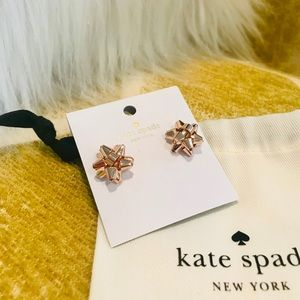 Kate Spade ♠️ Present Bow Earrings